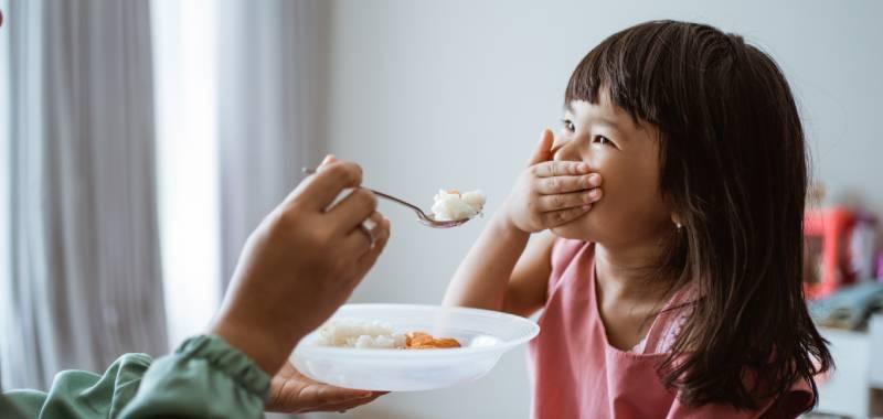 sayur untuk anak