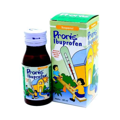 Proris Ibuprofen Obat Demam