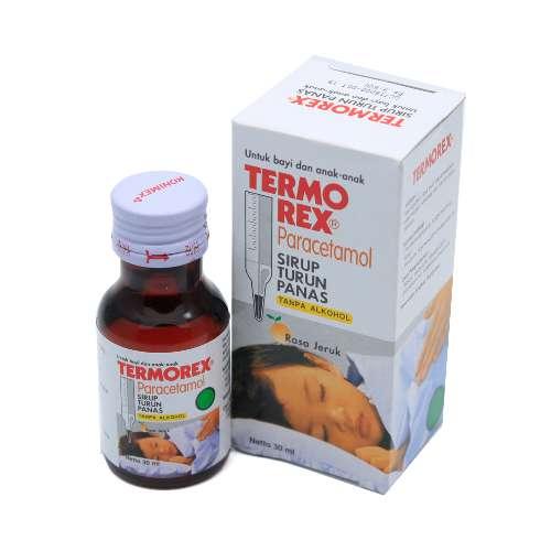 obat demam termorex sirup
