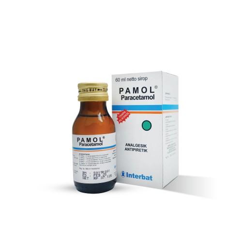 pamol paracetamol obat penurun panas